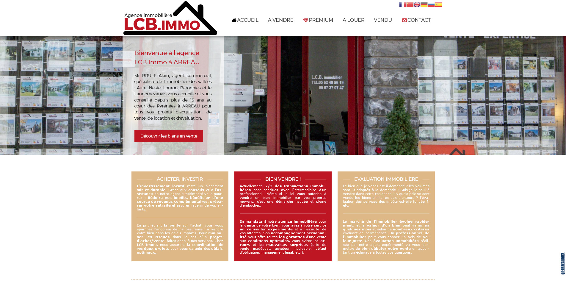 Site : LCB Immobilier